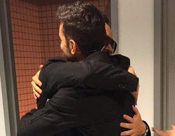 Jesús Vázquez y Risto Mejide se reencuentran en el inicio de las grabaciones de 'Factor X' en Telecinco