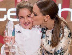 """Esther, ganadora de 'MasterChef Junior 5': """"Me gustaría presentarme a la versión de adultos"""""""