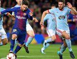 La Copa del Rey lidera con el partido entre el Barcelona y Celta de Vigo con un 12,4% en Gol
