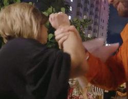 """Terelu se enfrenta a un joven que le ofrece un masaje a cambio de dinero en 'Las Campos': """"Te doy una hostia"""""""
