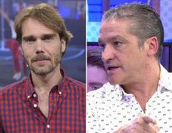 """Gustavo González, en 'Sálvame': """"Fayna ya denunció a Carlos. La trataba muy mal en presencia de sus hijos"""""""