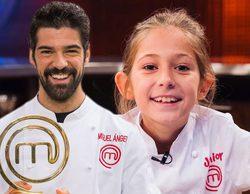 """El emotivo mensaje de Miguel Ángel Muñoz a su prima María ('MasterChef Junior'): """"Estoy muy orgulloso de ti"""""""