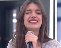 """Noemí Galera, emocionada tras el segundo pase de micros de la Gala 11 de 'OT 2017': """"Nunca había sentido esto"""""""