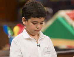 La reposición de 'MasterChef Junior' se cuela entre lo más visto en un sábado liderado por 'La que se avecina'