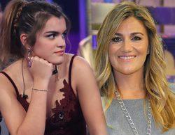 'Sálvame' muestra las primeras imágenes de Amaia ('OT 2017') en Telecinco y Carlota Corredera se declara fan