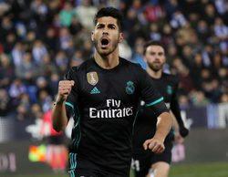 El partido de Copa del Rey entre el Leganés y el Real Madrid lidera en Gol con un gran 5,8%