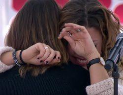 Miriam rompe a llorar y a Amaia le sale un gallo en el primer pase de micros de la Gala 12 de 'OT 2017'