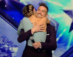 'Got Talent España': Así ha sido el reencuentro de Edurne y Guille Barea, concursantes de 'OT 4'