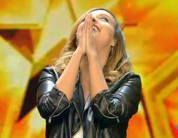 'Got Talent España': Risto y una emocionada Edurne otorgan su pase dorado a Damiana, una maga muy peculiar