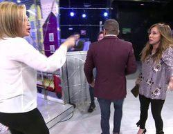 """'Sálvame': Jorge Javier provoca a María Patiño y Belén Esteban al calificarlas de """"básicas y primarias"""""""
