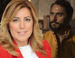'La peste': Susana Díaz defiende el acento andaluz de la serie tras las críticas