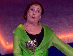 """Verónica Forqué en los Premios Feroz: """"Nos van a dar de cenar, aquel año salimos todos un poco borrachos"""""""