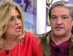 """Gustavo González, enfadado con Lydia Lozano: """"Me molesta que participes en una pantomima para ridiculizarme"""""""