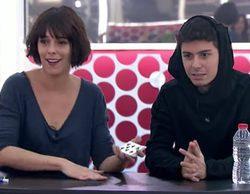 Belén Cuesta y Brays Efe visitan 'OT 2017' para realizar una clase de interpretación y hablar de Eurovisión