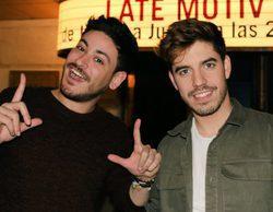 """Roi y Cepeda, en 'Late Motiv': """"No entramos en 'OT 2017' para ser estrellas, lo hicimos para aprender"""""""