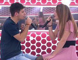 Almaia brillan y bronca para Miriam y Agoney en el primer pase de micros de la Gala de Eurovisión de 'OT 2017'