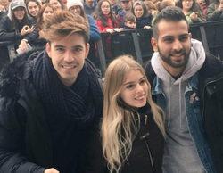 'OT 2017': Los triunfitos arrasan en las multitudinarias firmas de discos de Murcia, Algeciras y A Coruña