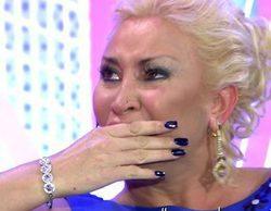 Raquel Mosquera se hunde en 'Sábado Deluxe' recordando a Pedro Carrasco y la mala relación con Rocío Carrasco