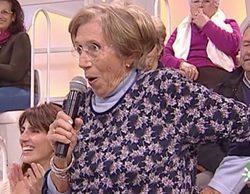 """El programa de Juan y Medio la lía al mostrar la edad de una señora del público: """"Los mato"""""""