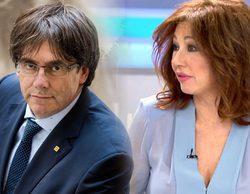 "Ana Rosa Quintana, harta del juego de Puigdemont en 'El programa de Ana Rosa': ""No le encuentro la gracia"""