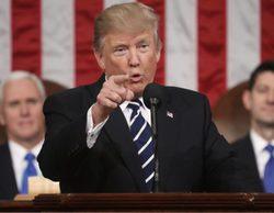 El discurso del Estado de la Unión de Trump acapara la programación, pero baja con respecto al año anterior