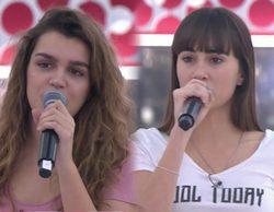Aitana y Amaia, brillantes, en el primer pase de micros de la Gala Final de 'OT 2017'
