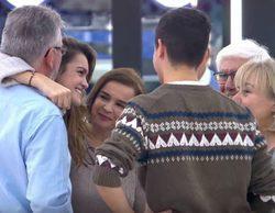 'OT 2017': El emotivo reencuentro de los finalistas y sus familiares
