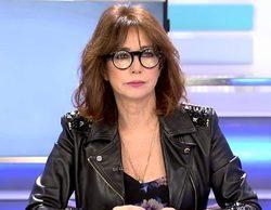 """Ana Rosa Quintana reprende a un reportero por ir en zapatillas a la nieve: """"No le da el sueldo"""""""