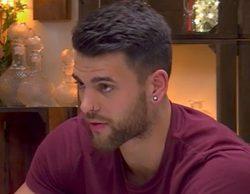 La hambrienta cita entre Jonathan y Erika en 'First Dates' que acaba con un golpe en la cara