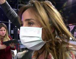 La razón por la que Maria Patiño estuvo con una mascarilla toda la tarde en 'Sálvame'