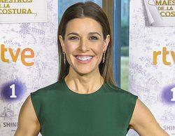 Raquel Sánchez Silva vestirá de David Delfín en el primer programa de 'Maestros de la costura'