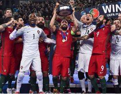 La prórroga de la Eurocopa de Fútbol Sala entre España - Portugal lidera con un 5,6% en DMAX