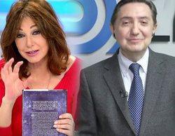 """Losantos se """"enfada"""" con Ana Rosa Quintana por no leerse su libro sobre comunismo: """"Yo confiaba en ti"""""""