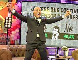 'Sálvame': La audiencia se posiciona y vota para que Carlos Lozano siga siendo su defensor