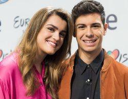 Amaia y Alfred ('OT 2017') se prueban el vestuario del videoclip para el Festival de Eurovisión 2018