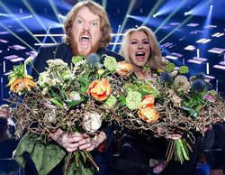 Martin Almgren y Jessica Andersson se meten en la final del Melodifestivalen 2018
