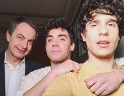 Los Javis y Zapatero se reúnen para hablar de los derechos LGTBI en el documental que prepara Playz