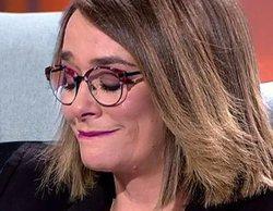'Viva la vida': Toñi Moreno rompe a llorar al escuchar el duro testimonio de Andrés Aberasturi sobre su hijo