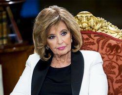 """Mª Teresa Campos bromea en 'Sálvame' sobre el defensor de la audiencia: """"Me habéis quitado el puesto"""""""