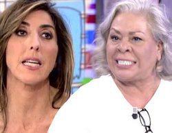 """Carmen Gahona estalla contra Paz Padilla en 'Sálvame': """"¡Vete a tomar por culo, ningún humorista te quiere!"""""""