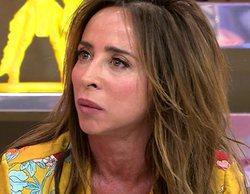 """María Patiño, harta de la actitud de Gustavo González en 'Sálvame': """"No distingues entre verdad y mentira"""""""