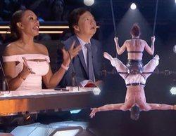 'America's Got Talent': Una trapecista cae al vacío en mitad de la actuación