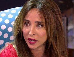 """María Patiño recuerda en 'Sálvame' cuando habló de su trastorno alimenticio: """"Fui tremendamente criticada"""""""