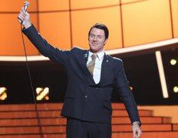 'Tu cara me suena': David Amor emociona al jurado y a los concursantes con su imitación de Frank Sinatra