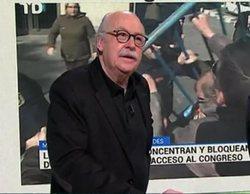 'laSexta Noche': Monegal critica la cobertura de TVE de la manifestación de los pensionistas en Madrid
