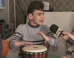 'Socialité': Adrián Martín reaparece y emociona a María Patiño cantándole una canción