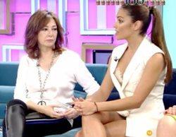 """Ana Rosa, al realizador de 'El programa de AR' por los planos de Lara Álvarez: """"Se te ha visto el plumero"""""""