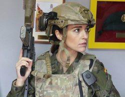 Paula Echevarría prepara su papel para 'Los nuestros 2' junto al Ejército de Tierra