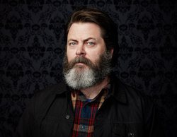 Nick Offerman, de 'Parks and Recreation', se une a 'Good Omens'