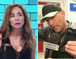 """Tenso enfrentamiento entre María Patiño y Carlos Lozano en 'Socialité': """"No quiero dejar mal al programa"""""""